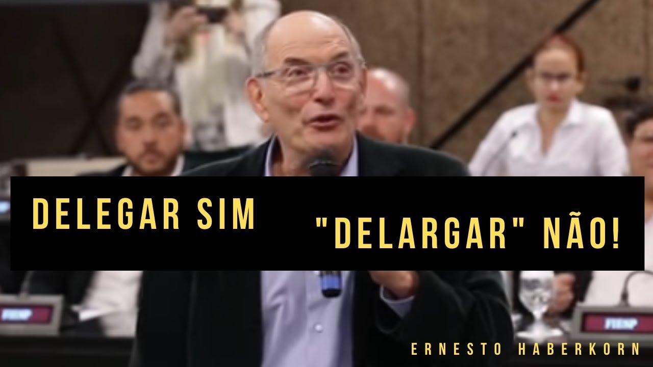 """Prezados gestores: Delegar sim, """"delargar"""" não!"""